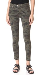 Hudson Nico Mid Rise Super Skinny Jeans Infantry Camo