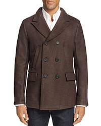 Billy Reid Bond Wool Blend Pea Coat 100 Bloomingdale's Exclusive Brown