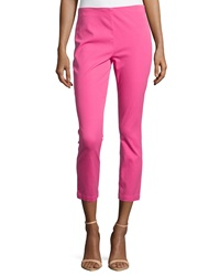 Paperwhite Slim Leg Cropped Pants Sherbet