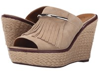 Franco Sarto Candace Soft Tan Women's Wedge Shoes