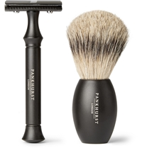 Pankhurst London Razor Set Black