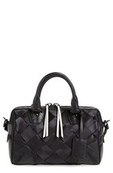 Rag And Bone Rag And Bone 'Small Flight' Woven Nylon And Leather Satchel