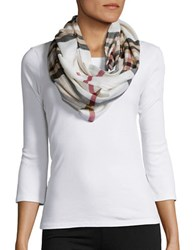 Lord And Taylor Looped Scarf Ivory