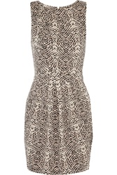 Tart Collections Nora Snake Print Stretch Modal Jersey Mini Dress Animal Print