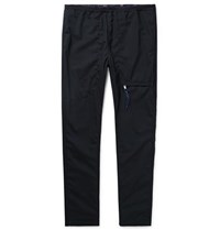 Nonnative Midnight Blue Educator Tapered Wool Blend Ripstop Trousers Midnight Blue