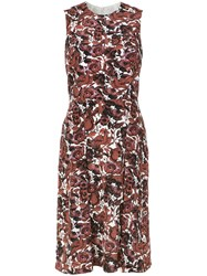 Andrea Marques Pleated Shift Dress Unavailable