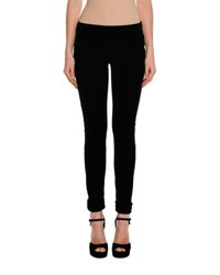 Tom Ford Velvet Zip Cuff Leggings Black