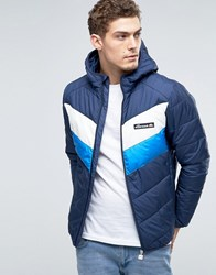 Ellesse Padded Jacket With Hood Navy