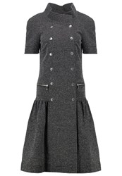 Karl Lagerfeld Summer Dress Black White Grey