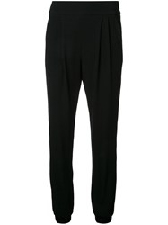 Sonia Rykiel By Cuffed Trousers Black
