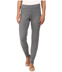 Hue Sweater Leggings Grey Heather Women's Casual Pants Gray