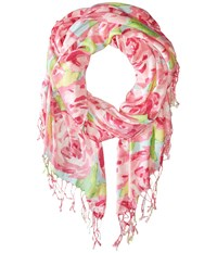 Lilly Pulitzer The Lilly Scarf Hotty Pink First Impression Scarves Multi