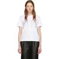 Proenza Schouler White White Label Address Logo T Shirt