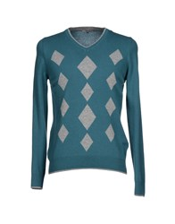 Paul And Son Knitwear Jumpers Men Turquoise