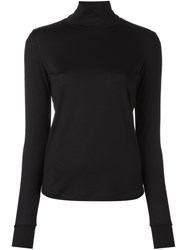 08Sircus High Gauge Turtleneck Jumper Black