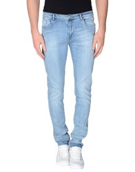 Individual Denim Denim Trousers Men Blue