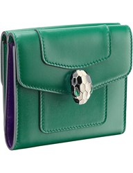 Bulgari Serpenti Forever Leather Wallet