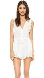 6 Shore Road Nomad Romper Moonlight White
