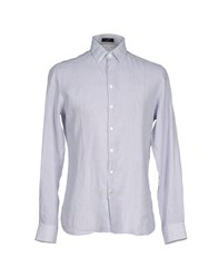 Tonello Shirts Shirts Men Light Grey