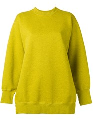 Ports 1961 Oversized Jumper Green