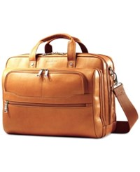 Samsonite Colombian Leather Business Case Tan