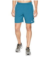Asics Legends 7 Shorts Blue Steel Heather Gray