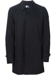 Burberry London Single Breasted Short Coat Blue
