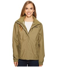 The North Face Resolve 2 Jacket Burnt Olive Green New Taupe Green Women's Coat Brown