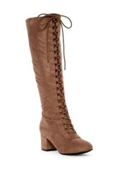 Anna Canny Tall Boot Brown