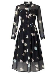 Marella Vanna Floral Print Dress Black