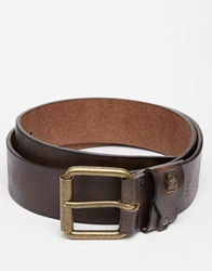 Esprit Leather Belt Brown