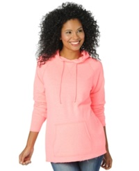 Motherhood Maternity French Terry Hoodie Hot Pink
