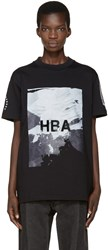 Hood By Air Black Wall T Shirt