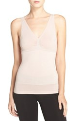 Yummie Tummie Women's By Heather Thomson 'Adella Built Up' Convertible Smoother Camisole Mushroom