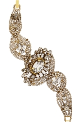 Erickson Beamon Young And Innocent Gold Plated Swarovski Crystal Bracelet