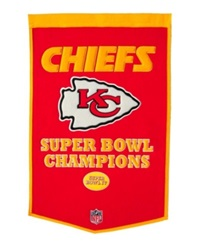 Winning Streak Kansas City Chiefs Dynasty Banner Team Color