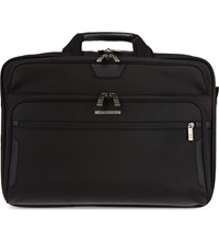 Briggs And Riley Large Expandable Briefcase Black