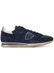 Philippe Model Tropez Low Top Sneakers Blue