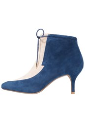 Shoe The Bear Leni Ankle Boots Navy Dark Blue