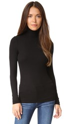 Three Dots Long Sleeve Turtleneck Black