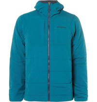 Patagonia Nano Air Padded Hell Hooded Jacket Blue