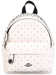 Coach Studded Mini Backpack Nude Neutrals
