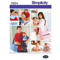 Simplicity Bags Sewing Leaflet 2924