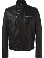 Lanvin Funnel Neck Jacket Black