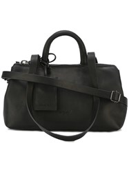 Marsell Multiple Straps Tote Black