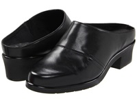 Walking Cradles Caden Black Nappa Leather Women's Clog Shoes