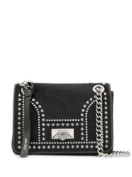 Jimmy Choo Helia Shoulder Bag Black