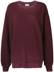 Cotton Citizen Oversized Fit Sweater Red