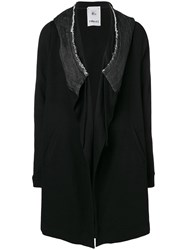 Lost And Found Rooms Parka Cardigan Black