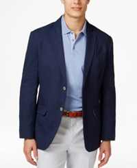 Tasso Elba Men's Island End On End Two Button Sport Coat Only At Macy's Indigo